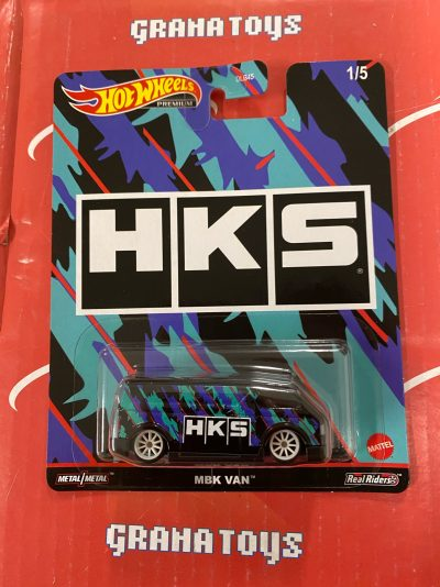 MBK Van HKS 2021 Hot Wheels Pop Culture Speed Shop Case K