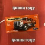 Ford F-550 Super Duty 29/100 2021 Matchbox Power Grabs Case U