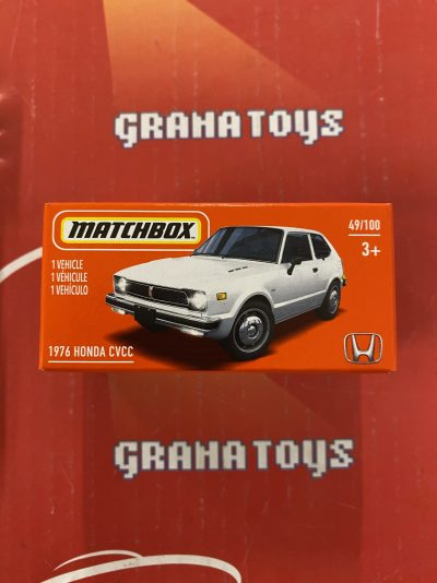 1976 Honda CVCC 49/100 2021 Matchbox Power Grabs Case U