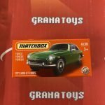 1971 MGB GT Coupe 42/100 2021 Matchbox Power Grabs Case U