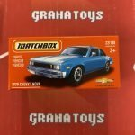 1979 Chevy Nova 22/100 2021 Matchbox Power Grabs Case U