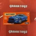 2019 Ford Mustang Coupe 31/100 2021 Matchbox Power Grabs Case U