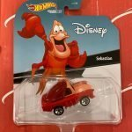 Sebastian Little Mermaid 2021 Hot Wheels Disney Animation Character Cars Mix R