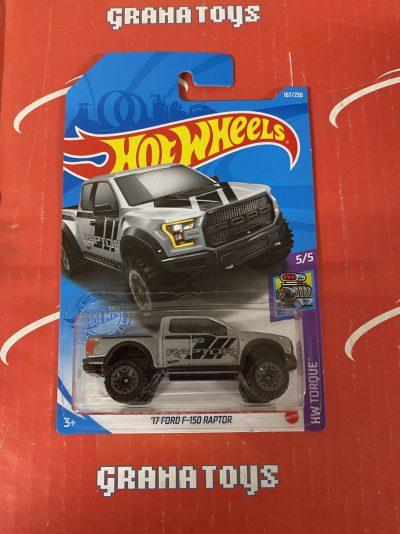 17 Ford F-150 Raptor #167 5/5 Torque 2021 Hot Wheels Case J