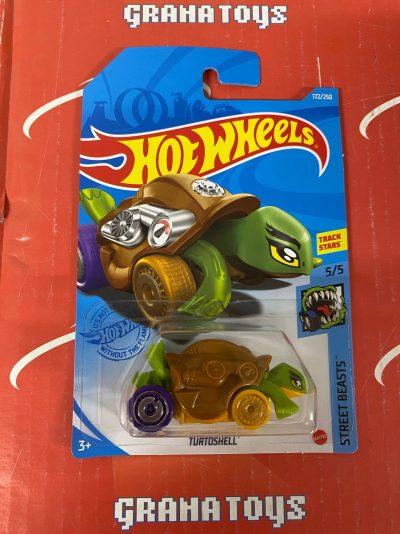 Turtoshell #172 5/5 Street Beasts 2021 Hot Wheels Case J