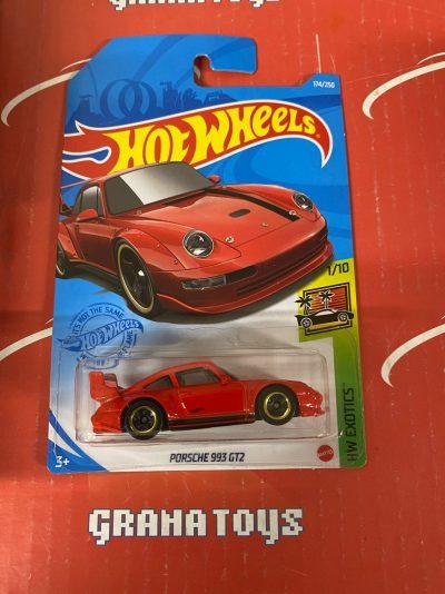 Porsche 993 GT2 #174 1/10 Exotics 2021 Hot Wheels Case J