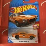 70 Chevy Camaro RS #179 8/10 Then and Now 2021 Hot Wheels Case J