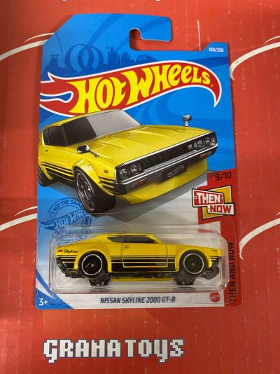 Nissan Skyline 2000 GT-R #180 9/10 Then and Now 2021 Hot Wheels Case J