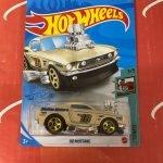68 Mustang #40 3/5 Tooned 2021 Hot Wheels Case J