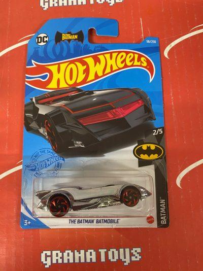The Batman Batmobile #56 2/5 Batman 2021 Hot Wheels Case J