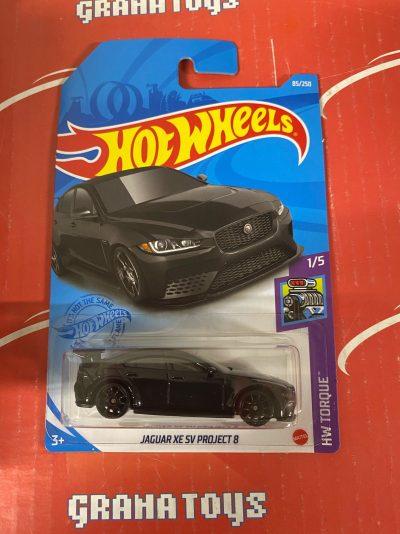 Jaguar XE SV Project 8 #85 1/5 Torque 2021 Hot Wheels Case J