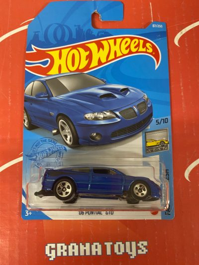 06 Pontiac GTO #87 5/10 Factory Fresh 2021 Hot Wheels Case J