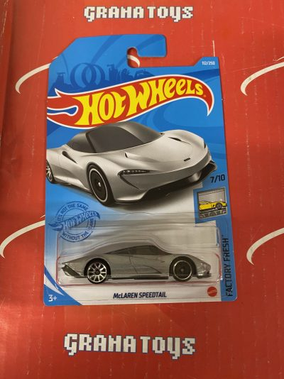 McLaren Speedtail #112 7/10 Factory Fresh 2021 Hot Wheels Case K
