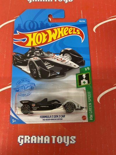 Formula E Gen 2 Car Tag Heuer Ed. #126 1/5 Green Speed 2021 Hot Wheels Case K