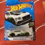 2018 Bentley Continental GT3 #133 7/10 Race Day 2021 Hot Wheels Case K