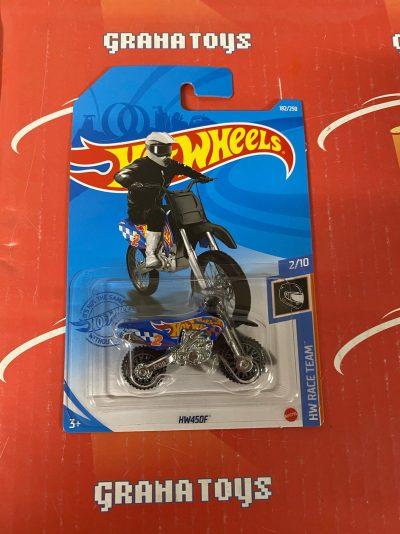 HW450F #182 2/10 Race Team 2021 Hot Wheels Case K