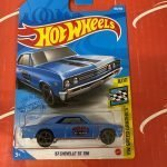 67 Chevelle SS 396 #183 8/10 Speed Graphics 2021 Hot Wheels Case K