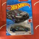 2018 Honda Civic Type R #186 6/10 J-Imports 2021 Hot Wheels Case K
