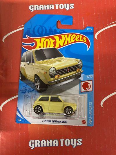 Custom '70 Honda N600 #187 7/10 J-Importsd2021 Hot Wheels Case K
