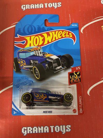 Mod Rod #189 1/5 Flames 2021 Hot Wheels Case K