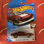 85 Chevrolet Camaro IROC-Z #191 1/10 Muscle Mania 2021 Hot Wheels Case K