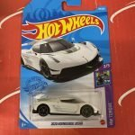 2020 Koenigsegg Jesko #86 2/5 Torque 2021 Hot Wheels Case K