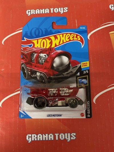 Loco Motorin' #99 2/5 X-Raycers 2021 Hot Wheels Case K