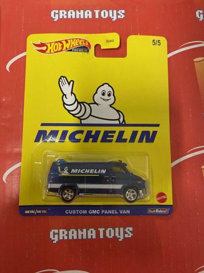 Custom GMC Panel Van Michelin 2021 Hot Wheels Pop Culture Speed Shop Case K