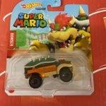 Bowser 2021 Hot Wheels Super Mario Gaming Character Cars Mix J