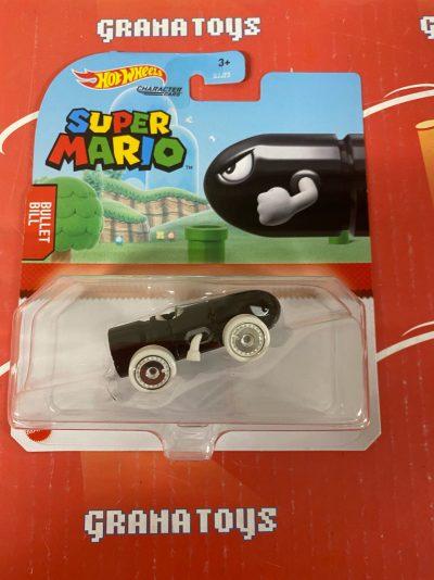 Bullet Bill 2021 Hot Wheels Super Mario Gaming Character Cars Mix J