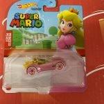 Princess Peach 2021 Hot Wheels Super Mario Gaming Character Cars Mix J