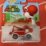 Red Yoshi 2021 Hot Wheels Super Mario Gaming Character Cars Mix J