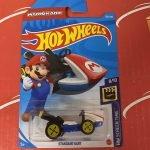 Standard Kart Mario Kart #166 8/10 Screen Time 2021 Hot Wheels Case L