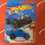 Toyota Land Cruiser #202 3/10 Hot Trucks 2021 Hot Wheels Case L