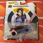 D.VA 2021 Hot Wheels Overwatch Gaming Character Cars Mix K