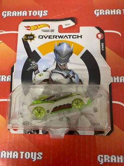 Genji 2021 Hot Wheels Overwatch Gaming Character Cars Mix K