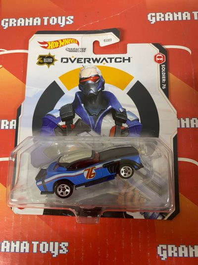 Soldier:76 2021 Hot Wheels Overwatch Gaming Character Cars Mix K