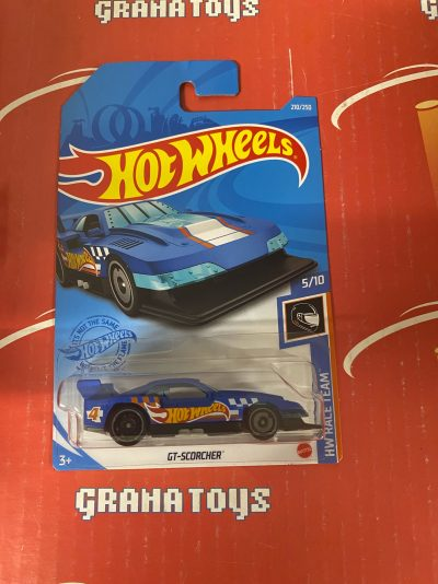 GT-Scorcher #210 5/10 Race Team 2021 Hot Wheels Case M