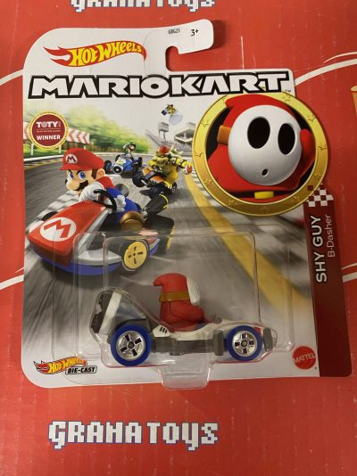 Shy Guy B-Dasher 2021 Hot Wheels Super Mario Kart Case P