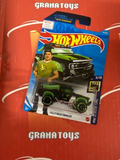 Rally Baja Crawler #141 6/10 Screen Time 2021 Hot Wheels Case N