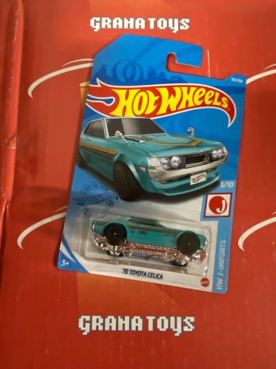 70 Toyota Celica #151 J-Imports 2021 Hot Wheels Case N