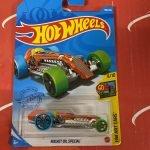 Rocket Oil Special #158 9/10 Art Cars 2021 Hot Wheels Case N