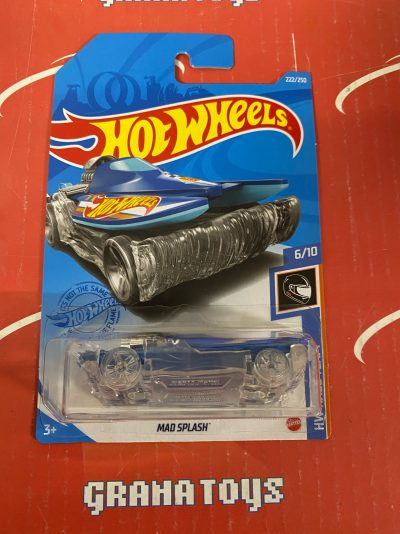 Mad Splash #222 6/10 Race Team 2021 Hot Wheels Case N