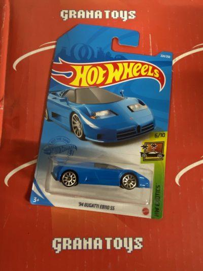 94 Bugatti EB110 SS #224 6/10 Exotics 2021 Hot Wheels Case N
