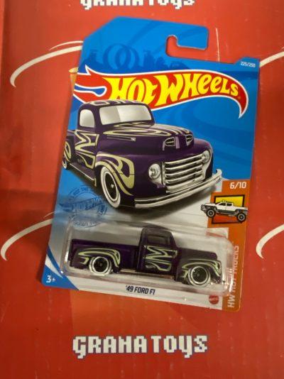 49 Ford F1 #225 6/10 Hot Trucks 2021 Hot Wheels Case N