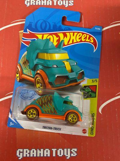 Tricera-Truck 3/5 Dino Riders 2021 Hot Wheels Case N