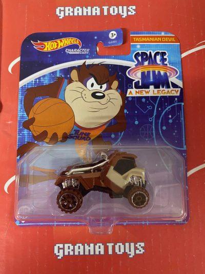 Tasmanian Devil 2021 Hot Wheels Space Jam Studio Character Cars Mix K