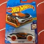 Cosmic Coupe #135 Black 5/5 Track Stars 2021 Hot Wheels Case P