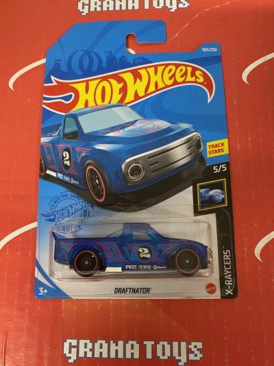 Draftnator #160 Blue 5/5 X-Raycers 2021 Hot Wheels Case P