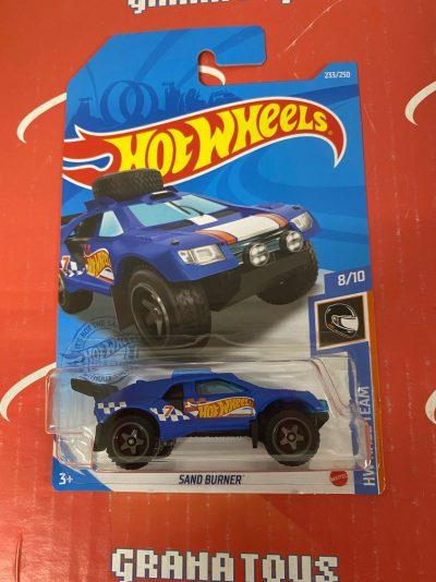 Sand Burner #233 8/10 Race Team 2021 Hot Wheels Case P